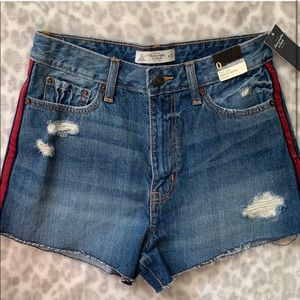Abercrombie High Waisted Shorts (NWT)